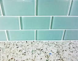 blue glass tile backsplash ideas images backsplashes