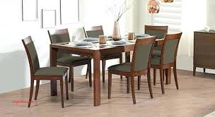 Glass Top Dining Table 7 Elegant Walnut And Sets Buy India