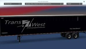 100 Transwest Truck And Trailer Canadian Pack V10 For ATS ATS Mod American