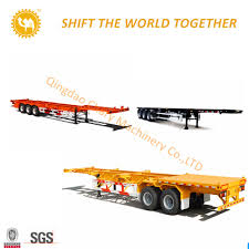 100 40 Foot Containers For Sale China Hot Carrier 3 Axles FT Extendable
