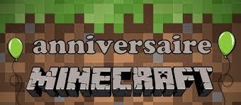 anniversaire minecraft jeux idées et activités