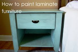 Do It Yourself Painting Laminate Furniture Ideas