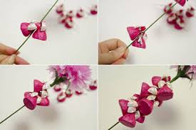 How To Make Beautiful Crepe Paper Flower And