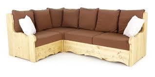canapé d angle marron canapé d angle coffre style montagne marron courchevel grenier alpin