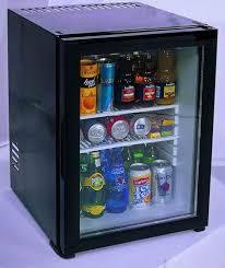 mini frigo de bureau refrigerateur minibar 40 litres porte verre kleo kmb 45gbi