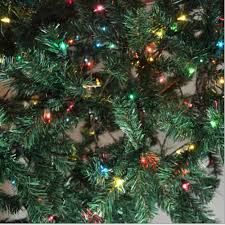 7ft Pre Lit Christmas Trees by Pre Lit 7 U0027 Madison Pine Artificial Christmas Tree Green Multi