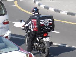 I Thought It Interesting That They Were Being Innovative And Making Some Money By Driving Around With Advertising Boxes On The Back Of Their Motorcycles