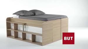 canap avec biblioth que int gr e lit avec rangement int gr 2 places gain de place space up but