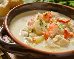 cuisine soupe de poisson recette seeafood chowder soupe de poisson irlandaise
