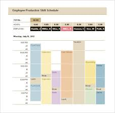 Download Production Schedule Template Excel Format