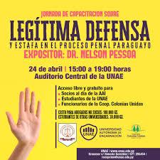 Jornada De Capacitación Sobre Legítima Defensa Y Estafa En