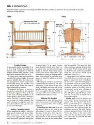 baby cradle woodworking plans for barbara pinterest