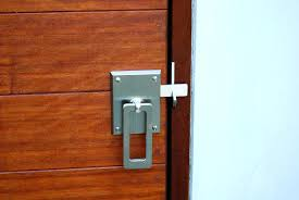 Locking Barn Door Latch • Door Locks Ideas