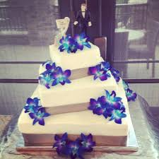 Blue Orchid Themed Wedding