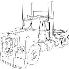 100 Best Semi Truck Coloring Page Top Ideas 9173