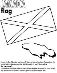 Use CrayolaR Crayons Colored Pencils Or Markers To Color The Flag Of Jamaica