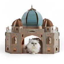 poopy cat maison de jeu pour chats landmarks taj mahal lmtajm