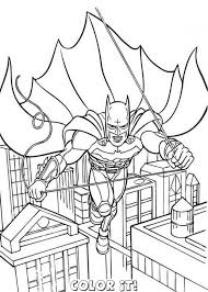 Amazing Of Best Batman Coloring Pages And Robin Co 358 Free Printable