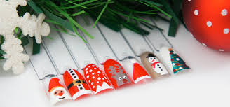 deco ongle de noel comment faire des nail de noel du plus simple au plus