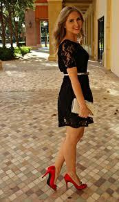 shoes for black floral dress
