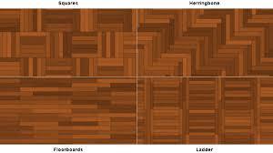 Wood Floor Pattern Decor