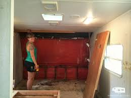 Camper Renovation Or By Rv Bedroom Remodel No Wall