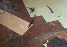 Can You Steam Clean Old Hardwood Floors by How To Easily Clean A Sticky Floor After Pulling Up Old Cheap Peel