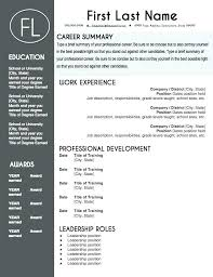 Teacher Resume Templates Word Free Download For Teachers Template Education Academic Latex Professional