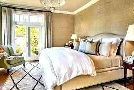 Metallic Gold Bedroom Walls