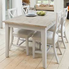 winsford extendable dining set with 4 chairs brambly cottage