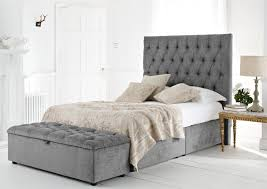 King Platform Bed With Fabric Headboard by Bedroom Headboard Designs Headboard Ideas Modern High Headboard