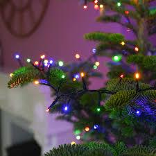 Guirlande Lumineuse Sapin De Noël 10 Mètres Couleur Au Choix