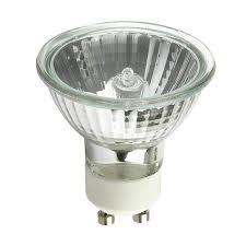 ushio 50w mr16 wide flood wfl50 fg gu10 halogen light bulb