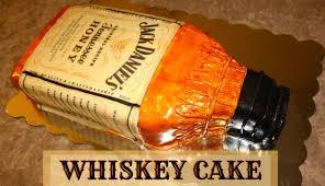 How to Make A Bottle Cake Jack Daniels Whiskey Cake