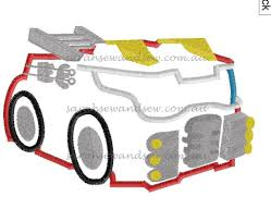 Heatwave Fire Truck Transformers Rescue Bot Embroidery Design ...