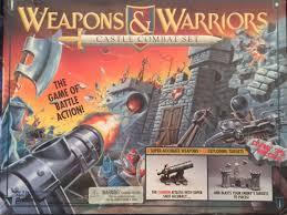 Weapons Warriors Castle Combat Set Board Game