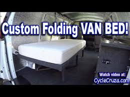 Bug Out Camper Van Build Part 4 Folding Bed Brentwood