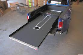 100 Truck Bed Door CG2200HD7548CGL Slide Out Tray 2200 Lb Capacity 70