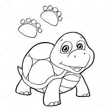 Figura Tortuga Para Colorear