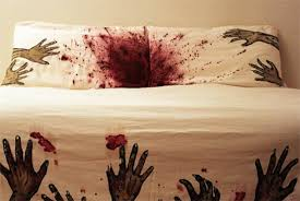 Zombie Sheets Bed Inspired By The Walking Dead