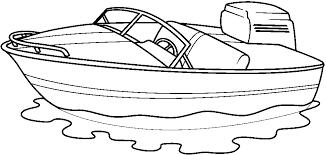 Boat Clip Art Black And White