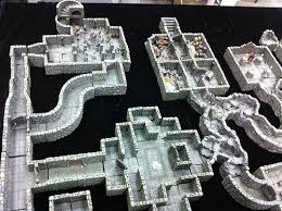 3d Dungeon Tiles Dwarven Forge by Dwarven Forge Dungeon Set Photos Dioramas And Mini S