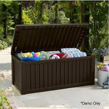 Keter Glenwood Deck Box Assembly by 12 Best Outdoor Storage Box Images On Pinterest Outdoor Storage