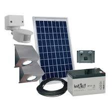 spot solaire exterieur avec detecteur mouvement 8 eclairage