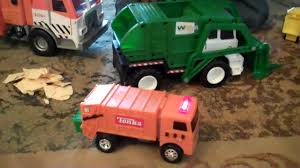 100 Garbage Trucks In Action With Carson YouTube