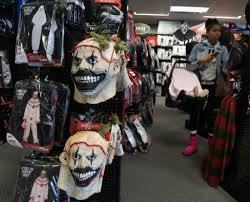 Purge Mask Halloween Spirit by As Halloween Nears Clowns On Edge Baltimore Sun