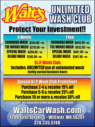 Walts Car Wash Buff N Shine Willmar, MN Get A Fabulous Car Wash Freddys 702 9335374 Home Innout Express North Hollywood Ca Detailing Inexterior Ldon Road Services Prices Poconos Auto Service Price Menu Yelp At Jax Kar Truck Semitruck Onsite Oryans Monticello Car Wash Prices Pinterest