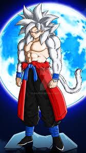 Xeno Goku SSJ4 Ultra Instinct Dragon Ball Super