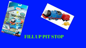 Trackmaster Tidmouth Sheds Toys R Us by Thomas And Friends Trackmaster Fill Up Pit Stop Youtube