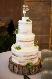 Rustic Wedding Naked Cake